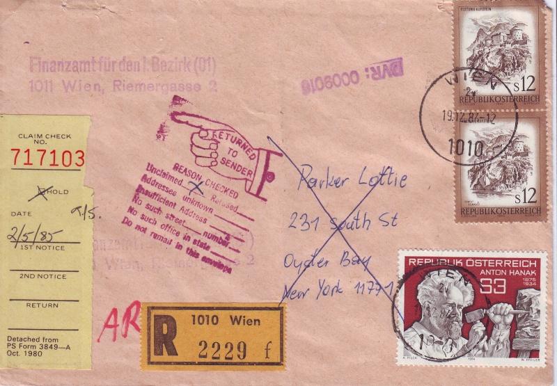 Sammlung Bedarfsbriefe Österreich ab 1945 - Seite 2 198410