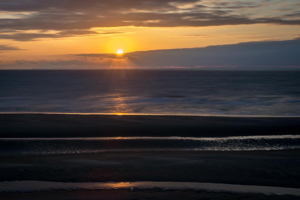 Le soleil se couche sur la mer du nord 2814_f10