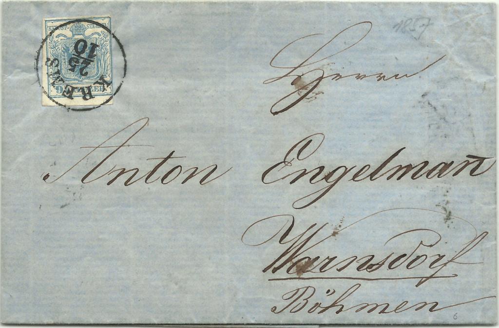 Die erste Österreichische Ausgabe 1850 - Seite 21 1857_911