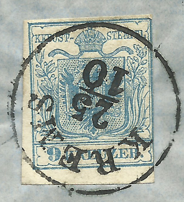 Die erste Österreichische Ausgabe 1850 - Seite 21 1857_912