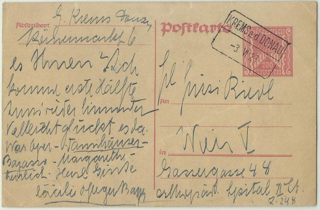 Bahnhofbriefkastenstempel 19230610
