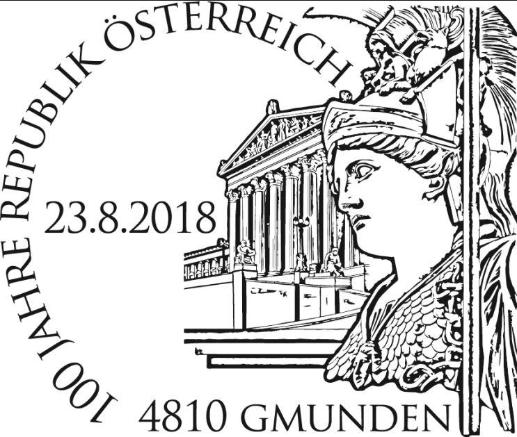 Sondermarke 100 Jahre Republik Österreich  1_repu11