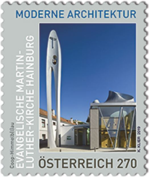 NEU: Sondermarkenausgabe Evangelische Martin-Luther-Kirche Hainburg 2_arch10