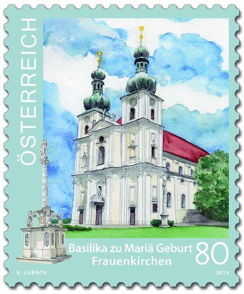 Sondermarke Basilika zu Mariä Geburt Frauenkirchen 2_frau10