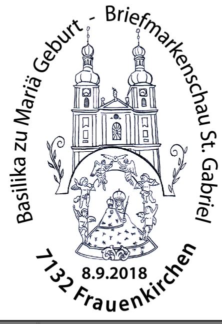 Sondermarke Basilika zu Mariä Geburt Frauenkirchen 2_frau11