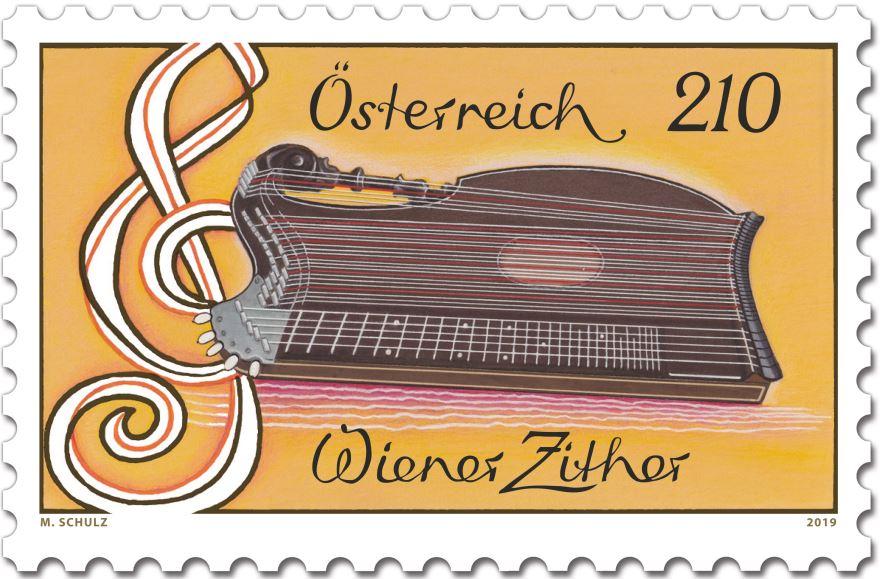 Sondermarke Wiener Zither 3_sm_w10