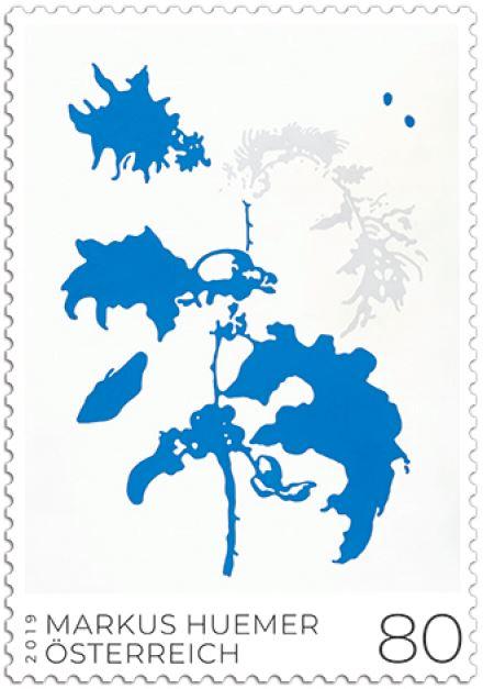 Sondermarke Markus Huemer - Moderne Kunst 4_sm_m10