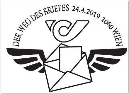 Österreich NEU: Blockausgabe Der Weg des Briefes Brief_12