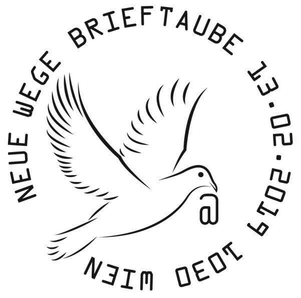 Sondermarke Neue Wege – Brieftaube Brieft11