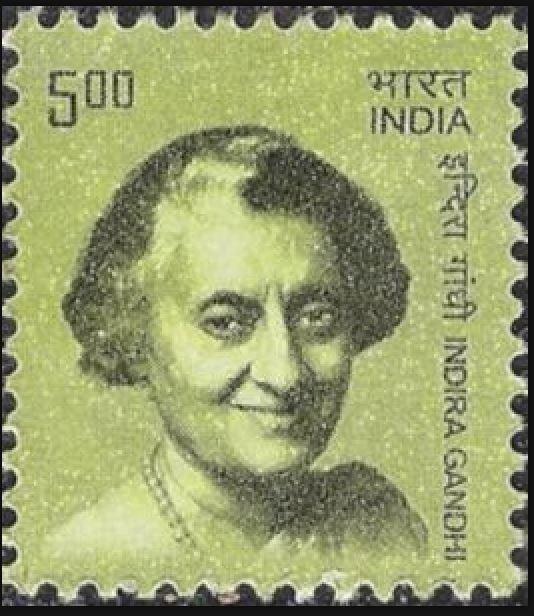 Briefmarken-Kalender 2019 Gandhi10