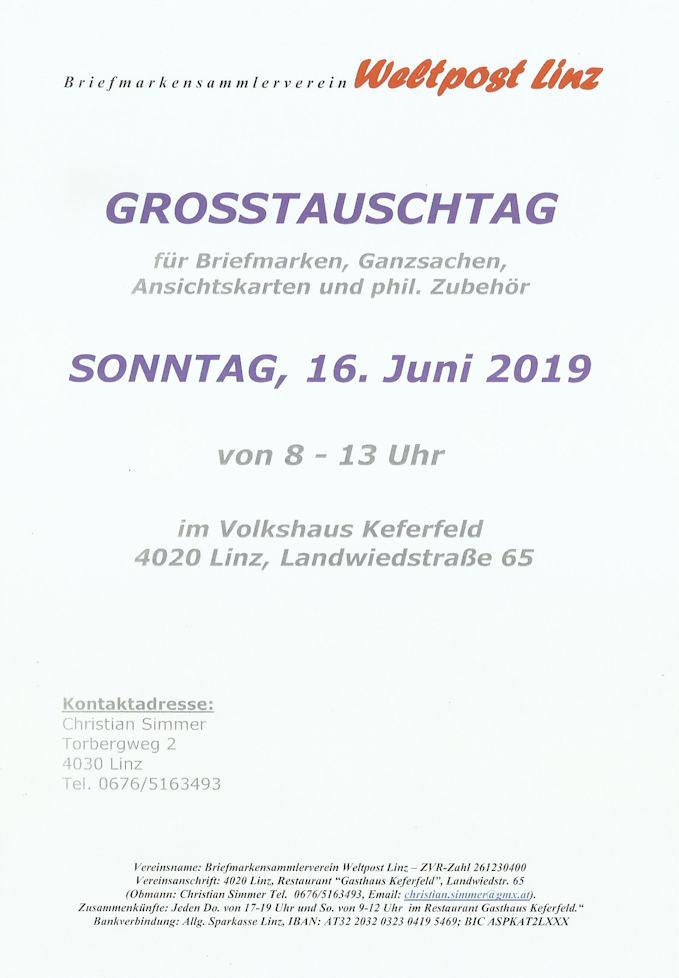 Großtauschtag in Linz Gtt_we10
