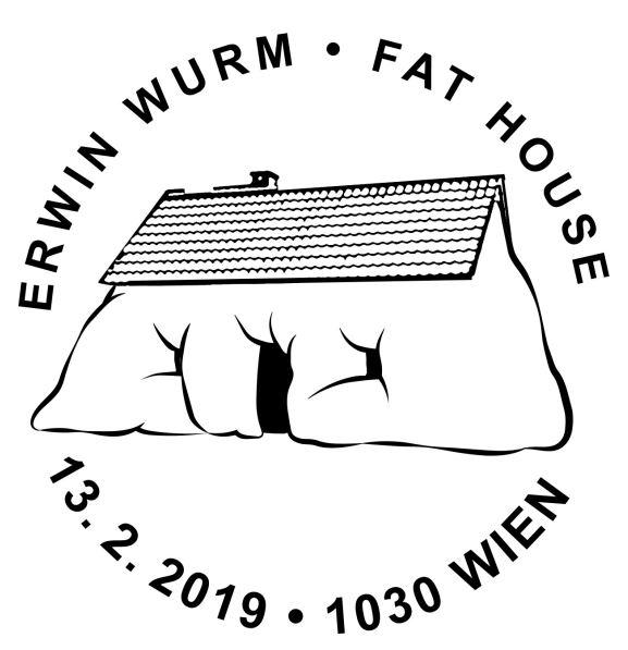 Sondermarke Erwin Wurm – Fat House House_10