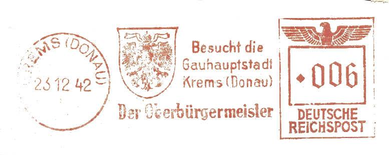 Österreichische Absenderfreistempel  Magist10