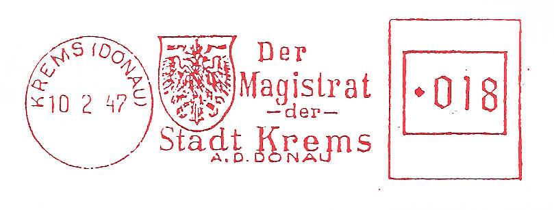 Österreichische Absenderfreistempel  Magist11