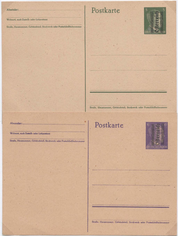 Postkarten 1945 (Grazer Provisorien) P304_u10