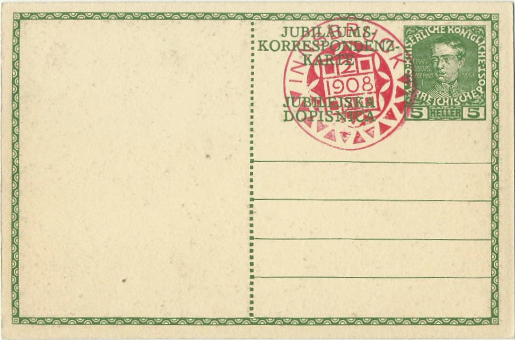 Jubiläumskarte Franz Joseph 1908 P_211_10