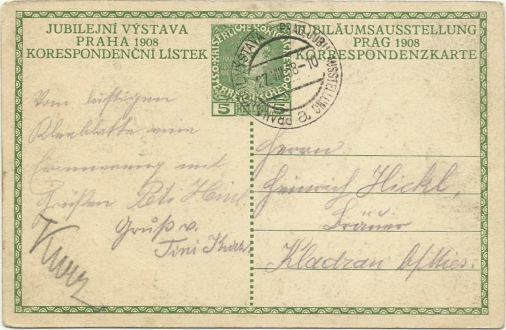 Jubiläumskarte Franz Joseph 1908 P_215_10