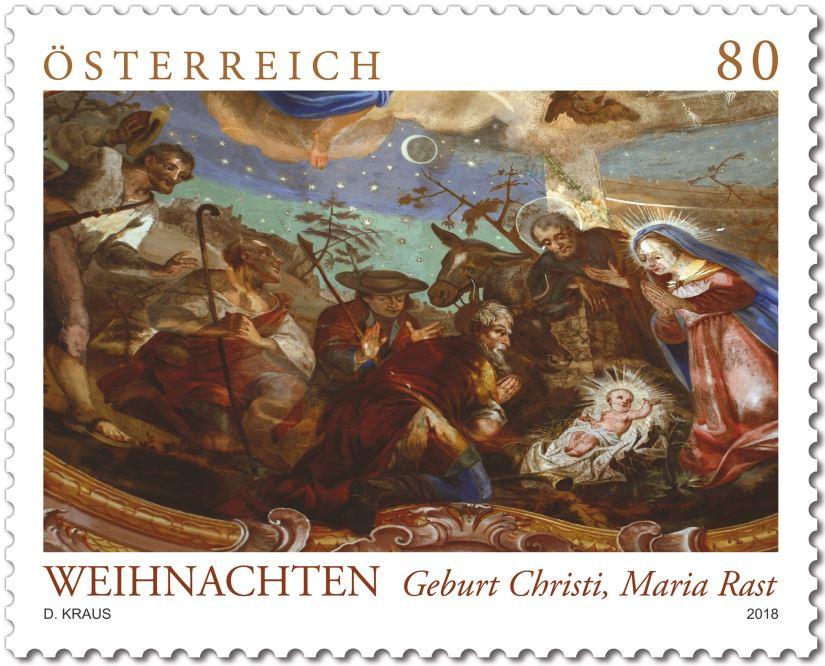 Weihnachten 2018 Geburt Christi, Maria Rast Rast_m10