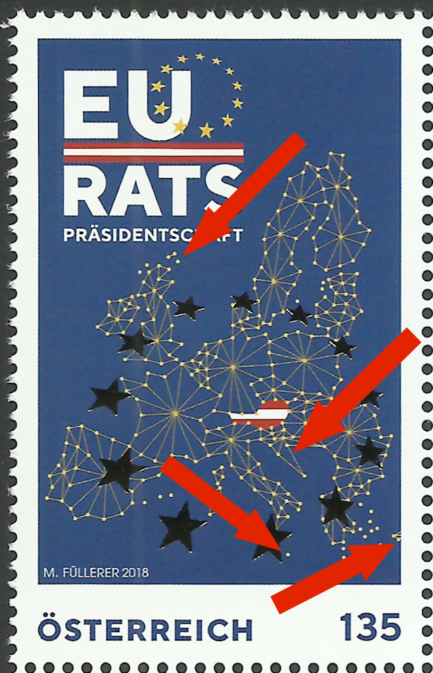 Sondermarke EU Ratspräsidentschaft Rats_o11