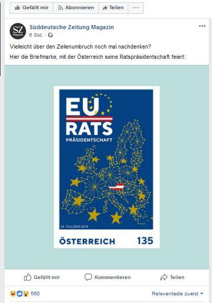 Sondermarke EU Ratspräsidentschaft Ratten10