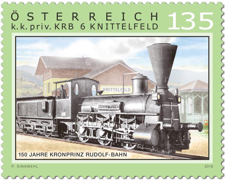 Sondermarke 150 Jahre Kronprinz Rudolf-Bahn Rudolf10