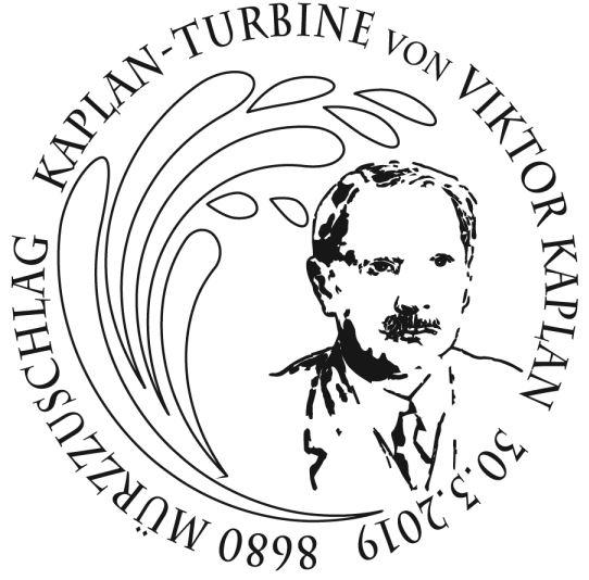 Sondermarke Kaplan-Turbine – Viktor Kaplan Sst_ka11