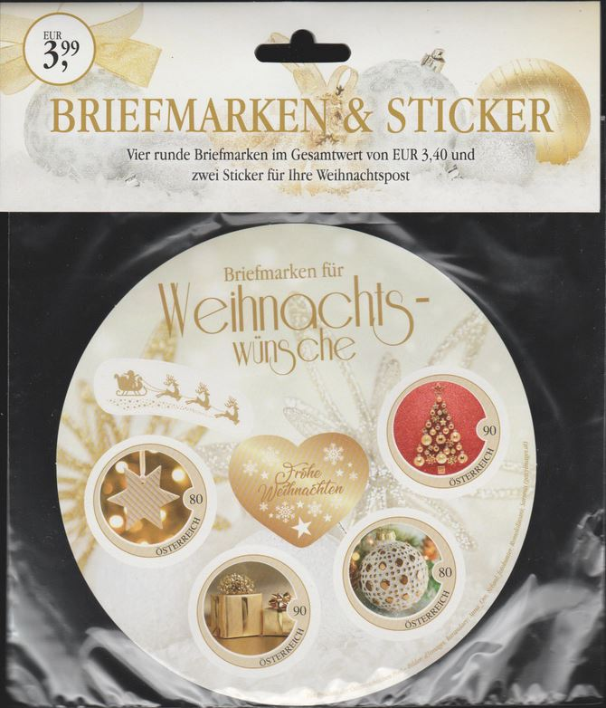 Briefmarken - Sonderartikel Briefmarken & Sticker - Marken rund und selbstklebend Sticke10
