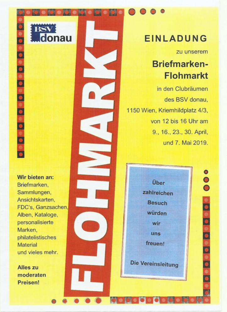 BSV Donau - Briefmarken-Flohmarkt Tausch12