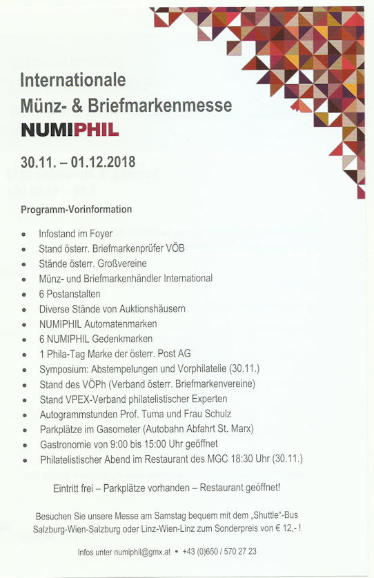 30.11.-1.12.2018 NUMIPHIL Wien Treffe12