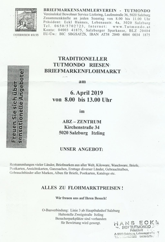 Briefmarken - Tutmondo Briefmarken Flohmarkt Tutmon10
