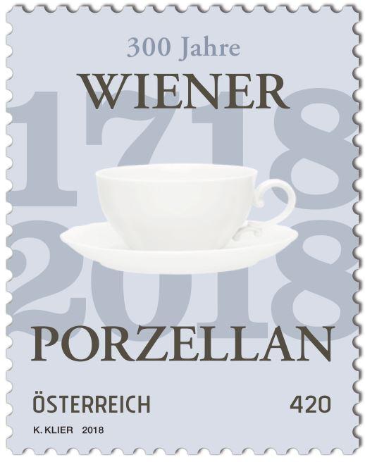 Sondermarke 300 Jahre Wiener Porzellan Wiener11