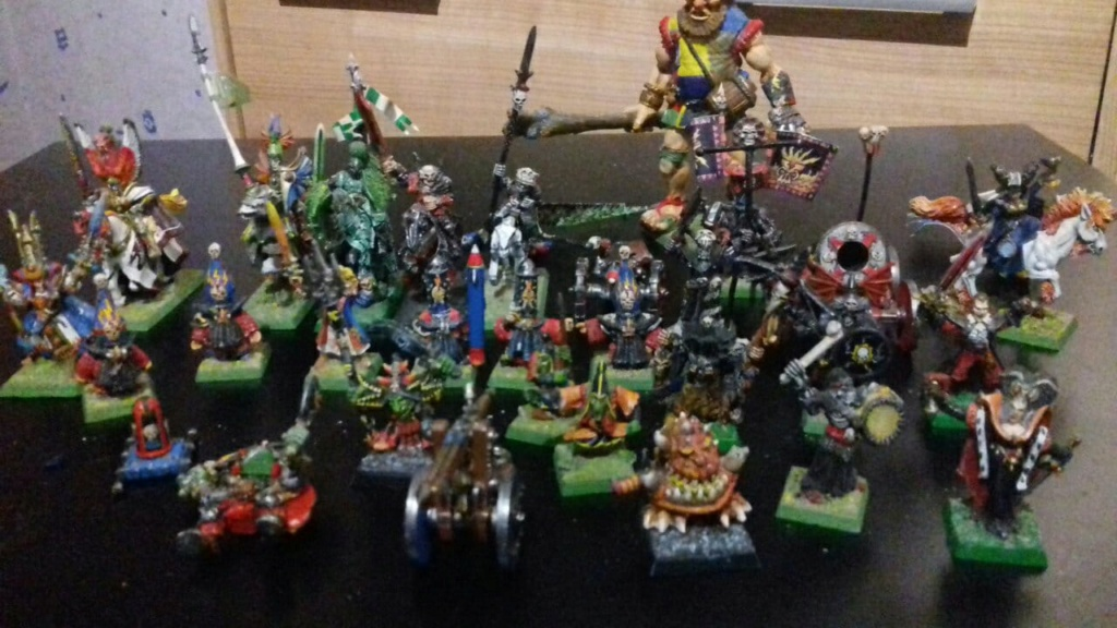 Vend figurines Warhammer Old Shool 36657910