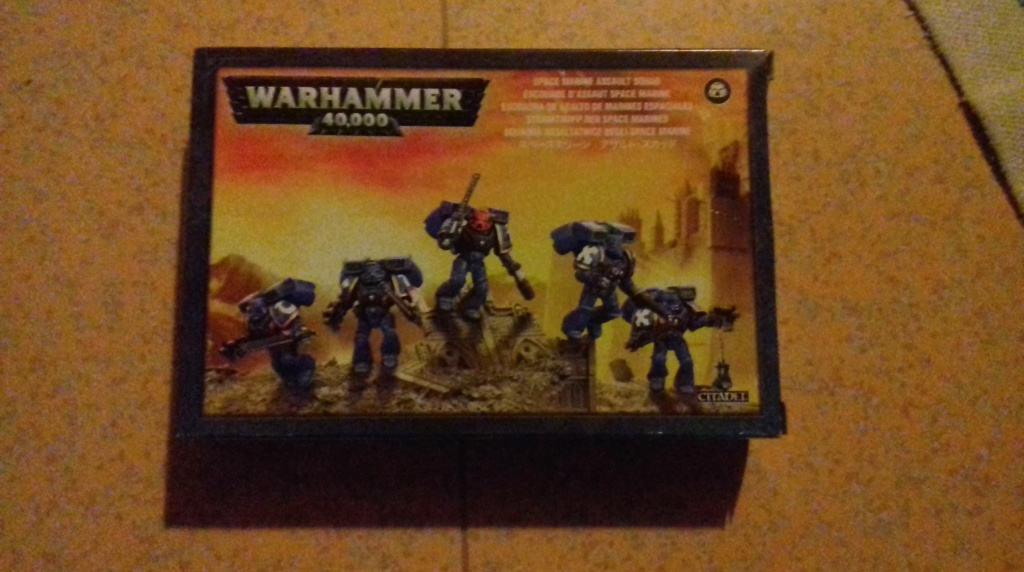 Chevaliers gris Warhammer 40k neuf, sur grappes.  67736610