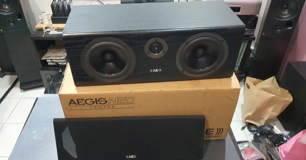 Acoustic Energy (AE) Aegis Neo Center Speaker (Black Ash) 16855110