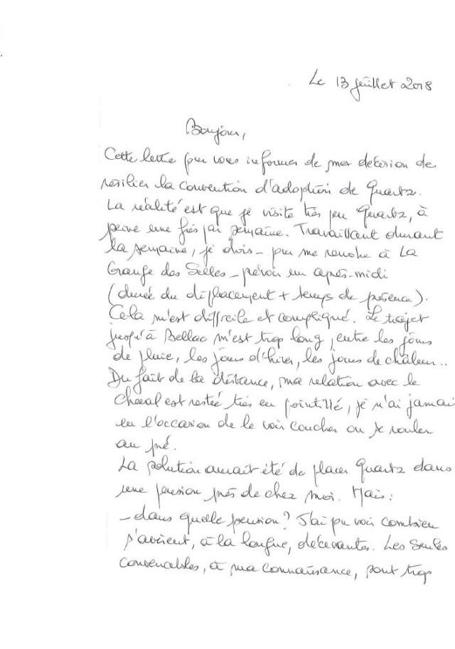 (87) QUARTZ - Hongre TF né en 2004 -  A ADOPTER (126 € + don libre)   - Page 5 Barny_10