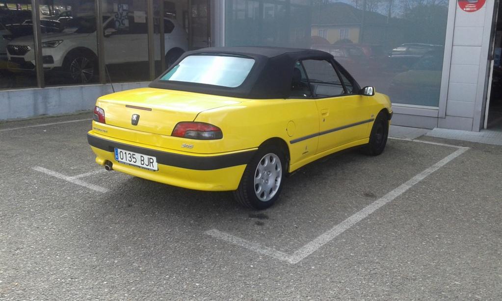[ SE VENDE ] Peugeot 306 Cabrio 2001 con hard-top 47700km 20190425