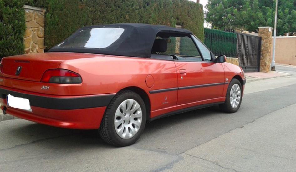 [ SE VENDE ] Vendo mi 306 cabrio fase-3 100cv 119,000km Captur11