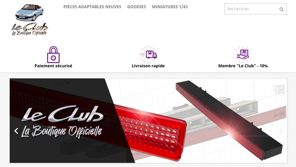 [LE CLUB ]¡Nueva tienda de repuestos del club 306 cabrio francés! + 3ª luz de freno por 99€ + ¡otras refabricaciones! Captur69