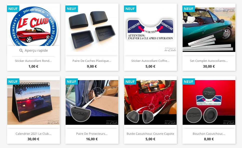 [LE CLUB ]¡Nueva tienda de repuestos del club 306 cabrio francés! + 3ª luz de freno por 99€ + ¡otras refabricaciones! Captur70
