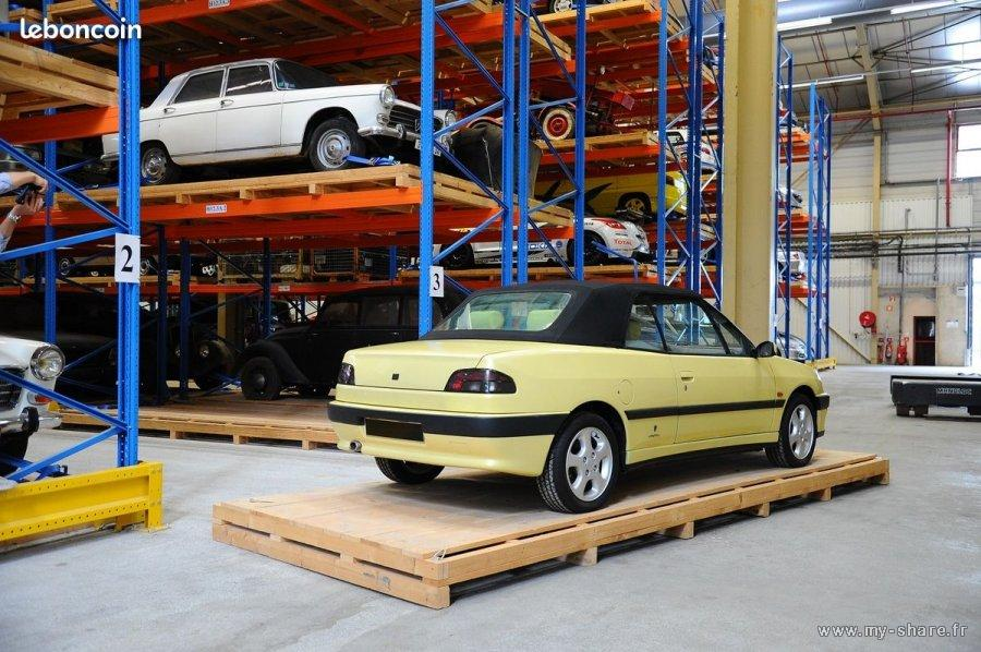 [ FOTOS ] Prototipo 306 cabriolet fase 1 amarillo Louxor M9q0r912