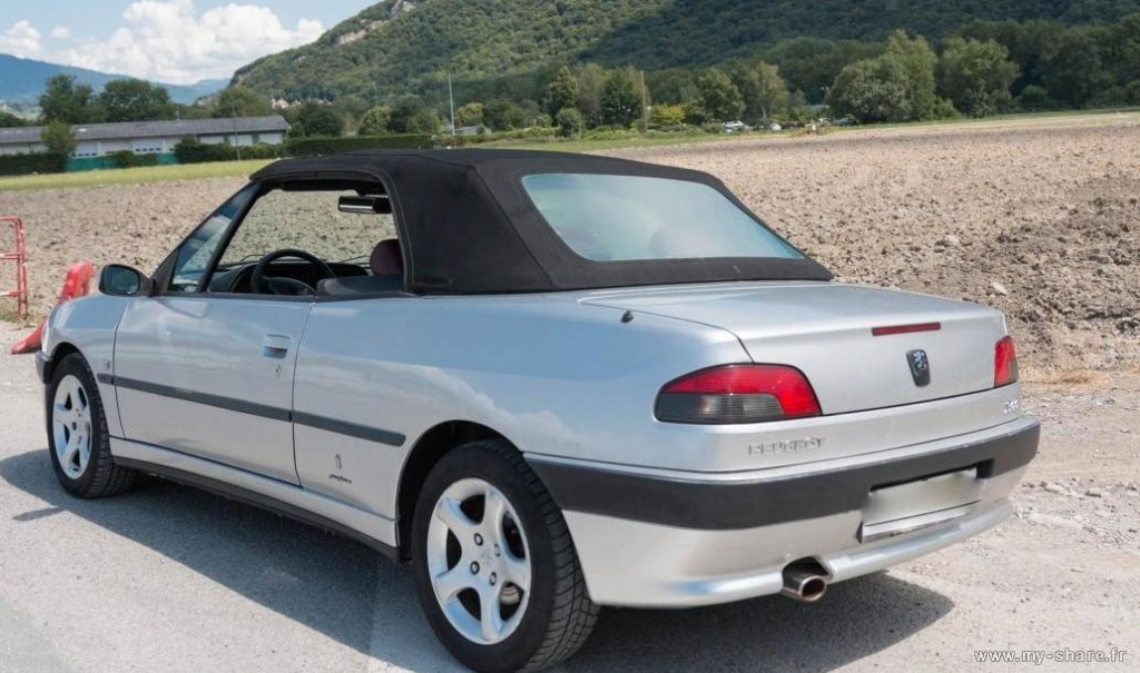 """[ FOTOS ] Fase 3 - 2000 - """"Suisse"""" 2,0i 135cv grís Thallium - El cabrio de Damiano Medium12"""