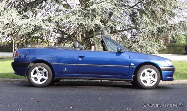 [ FOTOS ] Fase 3 - 2000 -  2,0i 135cv azul China - El cabrio de Pgt310 Medium34