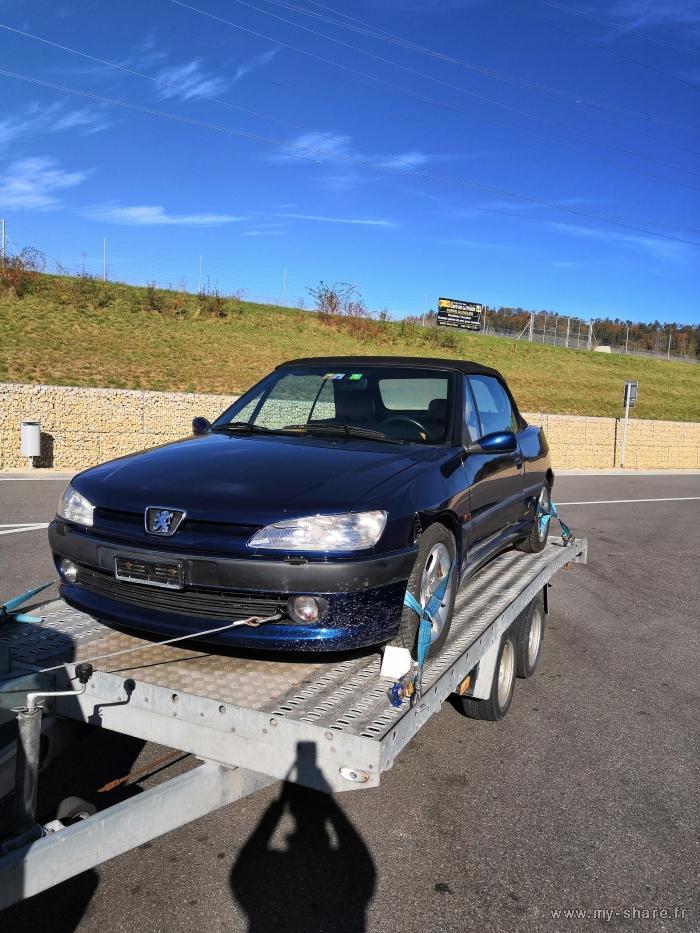 """[ FOTOS ] Fase 2 - 1997 - 2,0i 135cv azul China - El cabrio """"Suisse"""" automático de Cabriojn Medium40"""