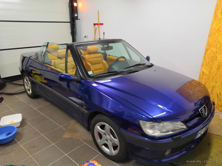 """[ FOTOS ] Fase 2 - 1997 - 2,0i 135cv azul China - El cabrio """"Suisse"""" automático de Cabriojn Medium47"""