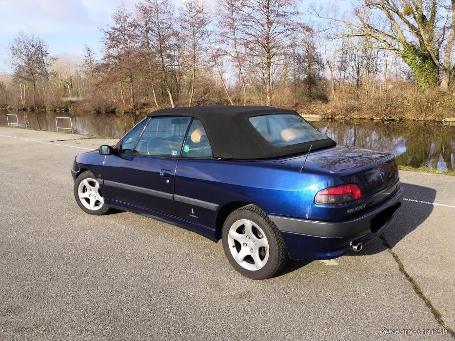"""[ FOTOS ] Fase 2 - 1997 - 2,0i 135cv azul China - El cabrio """"Suisse"""" automático de Cabriojn Medium52"""