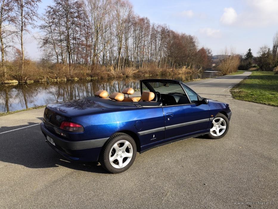 """[ FOTOS ] Fase 2 - 1997 - 2,0i 135cv azul China - El cabrio """"Suisse"""" automático de Cabriojn Medium58"""