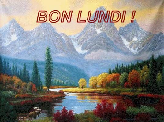 Bonjour du jour et bonsoir du soir - Page 14 Lundi12