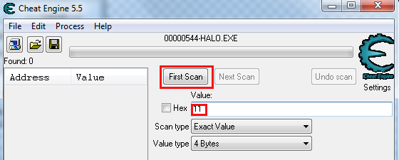 Cheat engine Firsts10