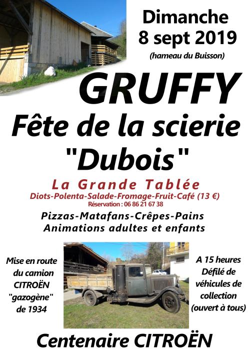 gruffy - Gruffy Haute Savoie 74 Affich16