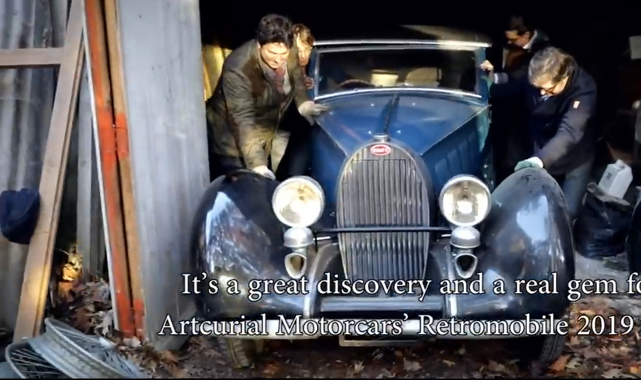 sortie de grange Bugatti Bubu10
